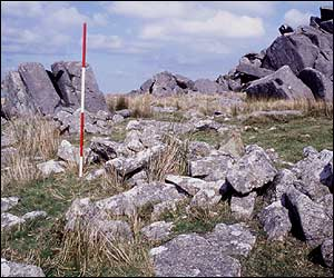 Carn Menyn (Photograph by Timothy Darvill. Copyright 2005 Bournemouth University and SPACES)