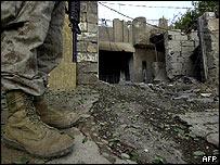 Falluja ruins