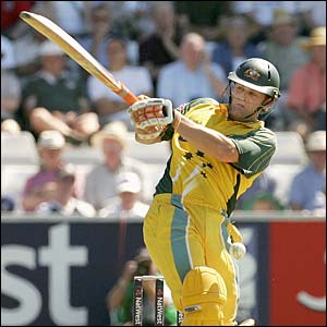 Australia's Adam Gilchrist hits out