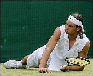 Rafael Nadal suffers a shock defeat