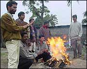 Funeral of Paduram Mahanta