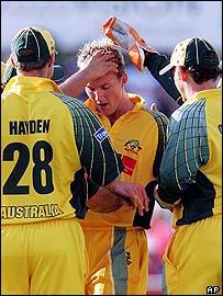 Having Brett Lee back was a major bonus for the Aussies