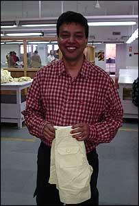 Cotton Comfort managing director Subrat Dhital