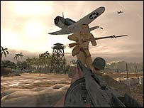 Screenshot from Medal of Honor: Pacific Assault