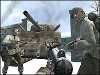 Screenshot from Call of Duty: Finest Hour