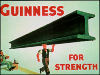 Classic Guinness advertisement