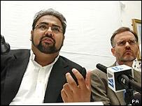 Dr Imran Waheed of Hizb ut-Tahrir