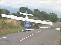 the plane that crashed
