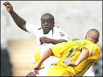 Striker Adebayo Akinfenwa was Swansea's match-winner