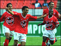 Players from Egyptian club Al Ahly