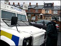Police search operation in north Belfast