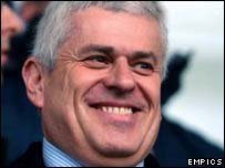 Former Barnsley chairman Peter Ridsdale