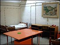 Inside Mladic's bunker