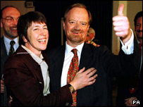 Margaret and Robin Cook