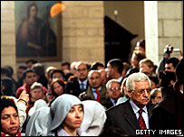 Mahmoud Abbas in Bethlehem
