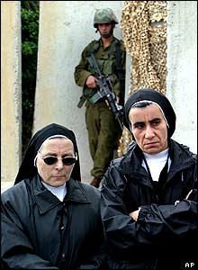 Nuns in Bethlehem