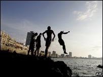 Malecón de La Habana.