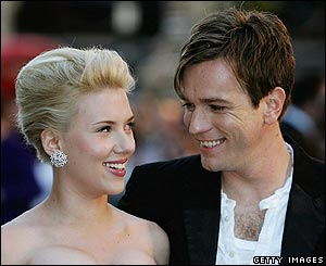 Scarlett Johansson and Ewan McGregor