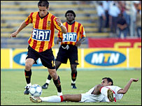 Esperance go on the attack, but could not find their first win of the tournament