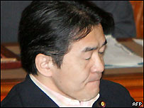 Economy Minister Heizo Takenaka, after the announcement, 8 Aug