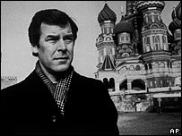 Peter Jennings in Moscow in 1986