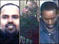 Muktar Said Ibrahim, Ramzi Mohammed and Yassin Hassan Omar