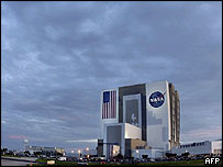 Vehicle Assembly Building, Kennedy Space Center, Florida (AFP)