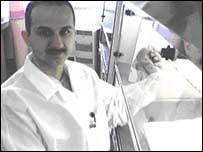 Ali Alhamdani, one of the surgeons at Morriston Hospital involved in the study