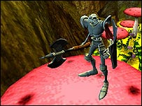 Screenshot from MediEvil: Resurrection