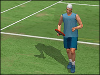 Screenshot from Virtua Tennis World Tour