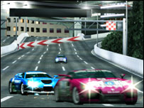 Screenshot from Ridge Racer