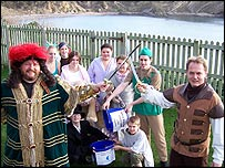Pirates in Lulworth Cove