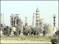 Dura oil plant near Baghdad, Iraq