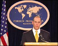 Portavoz del Departamento de Estado, Adam Ereli