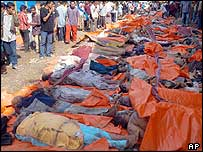 Victims in Banda Aceh, 27/12/04