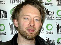 Thom Yorke of Radio