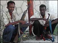 Somali gunmen