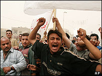 Protest calling for resignation of Baghdad mayor