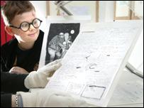 Harry Potter original manuscript