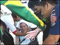 Swedish woman injured