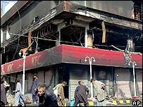 KFC restaurant burned down in May 2005