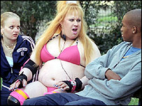 Scene from BBC3's Little Britain