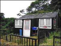 Modern-day hut