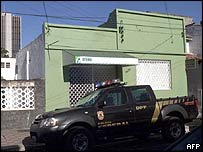 House used by bank robbers in Fortaleza
