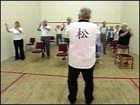 Tai Chi class for heart failure patients