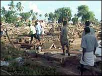 Devastation in Mullaitivu