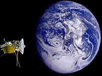 Vista del planeta Tierra de la Agencia Espacial Europea.