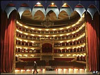 View of the Bolshoi from the stage
