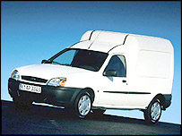 Ford Fiesta Courier van