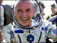 Space tourist Dennis Tito